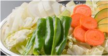 カット野菜&キムチ