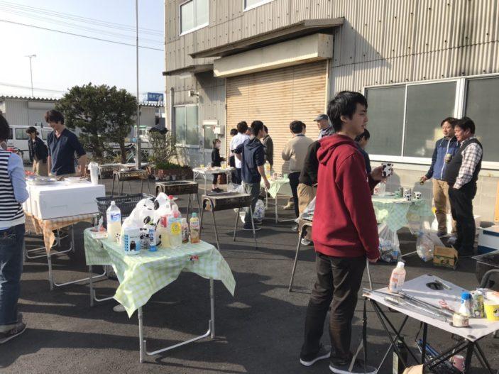 旭化成様でお花見バーベキュー!!