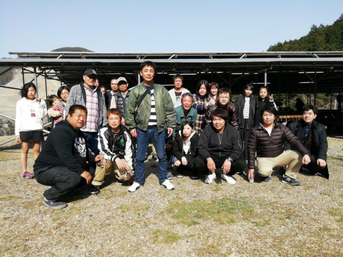 甲賀土山でバーベキュー!!